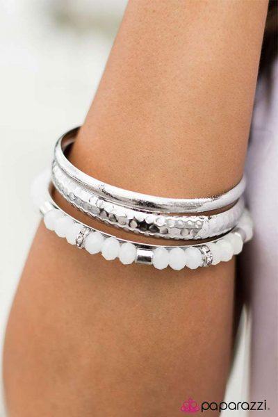 Paparazzi Crystal Cadence Bracelet